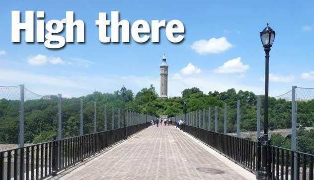 Forgotten NY Tour: Walking High Bridge